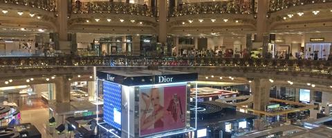 Retail, Lafayette, Paris